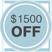 1500 off Logo