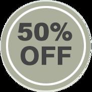 50% off LASIK Logo