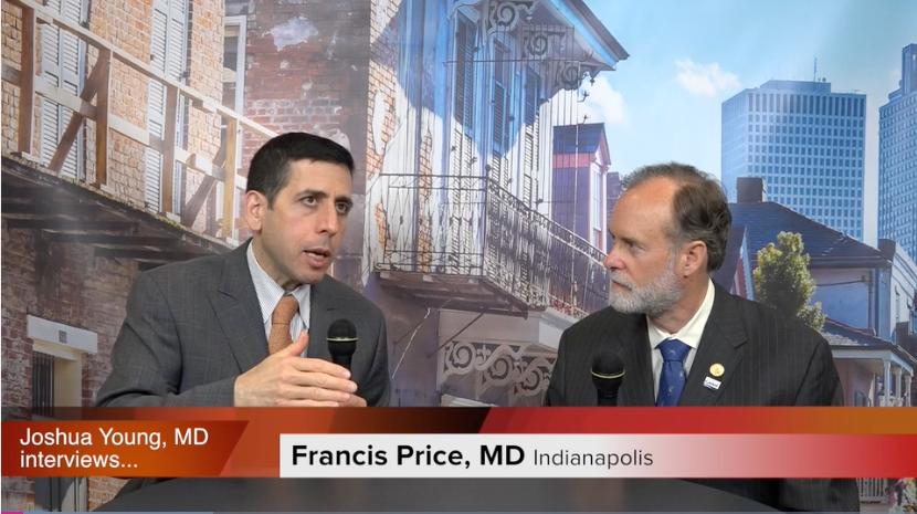 Eye Doctor Francis Price discussing LASIK