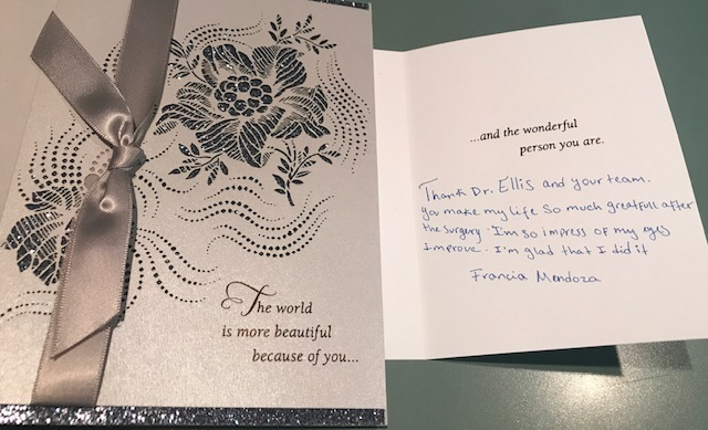 Patient Holiday Thank You Card