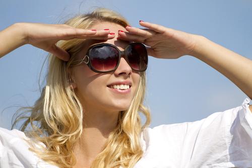 woman in sunglasses